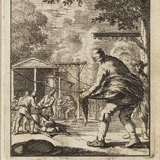 'De lyndraajer' - Jan Luyken, Caspar Luyken