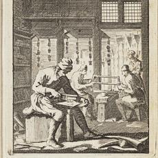 'De kammemaaker' - Caspar Luyken, Jan Luyken, Pictura (fotografie)