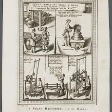 'De Seije Reedery, uit du Halde' - J. v. Schley, Pictura (fotografie)