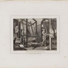 'Industry and Idleness.' - Pictura (fotografie), T. Cook, Hurst Longman, William Hogart