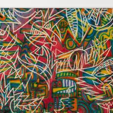 'Decoratiestof' - Textielmuseum (Josefina Eikenaar), Textielmuseum (Josefina Eikenaar), Textielmuseum (Josefina Eikenaar), Textielmuseum (Josefina Eikenaar), Philip Boas