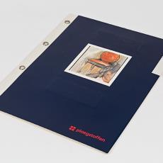 Stalenboek Ploeg meubelstoffen 'Albi' - Frans Dijkmeijer, Textielmuseum, Textielmuseum, Weverij De Ploeg (Bergeijk)