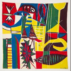 Sjaal, abstract - Boris van Wijk