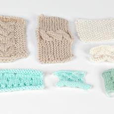 Proeven voor de modecollectie 'Stjerren oan it Fimamint' - Winde Rienstra, Textielmuseum (Josefina Eikenaar)