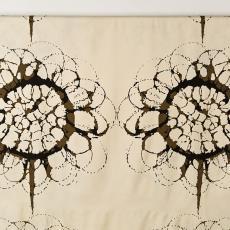 Gordijnstof 'Piona' - Textielmuseum (Josefina Eikenaar), Weverij De Ploeg (Bergeijk), Ulf Moritz, Textielmuseum (Josefina Eikenaar)