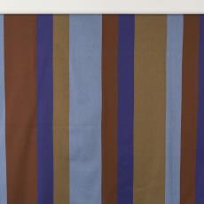 Gordijnstof met verticale banen - Weverij De Ploeg (Bergeijk), Textielmuseum (Josefina Eikenaar), Textielmuseum (Josefina Eikenaar)