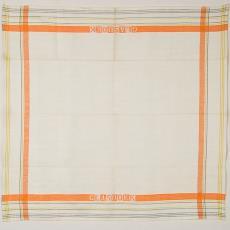 Droogdoek met ingeweven naam 'Glasdoek' (dessin 600) - Textielmuseum (Josefina Eikenaar), Linnenfabrieken E.J.F. van Dissel & Zonen (Eindhoven), Kitty van der Mijll Dekker (Fischer-)
