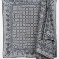 Droogdoek met Art Nouveau rand - Textielmuseum, onbekend