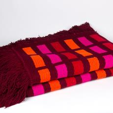 'Handwoven blanket' - Atelier in India, Textielmuseum (Josefina Eikenaar), Fransje Killaars