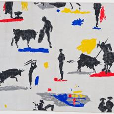 'Toros y Toreros' - Bloomcraft Inc., Pablo Picasso, Textielmuseum (Josefina Eikenaar), Textielmuseum (Josefina Eikenaar), Textielmuseum (Josefina Eikenaar)