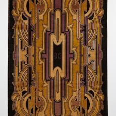 Kapstokkleed in de stijl van de Amsterdamse School - onbekend, Textielmuseum
