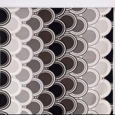 Gordijnstof met cirkelmotief - Textielmuseum (Josefina Eikenaar), International Kendix Textiles (Waalre), Kendix Design-team
