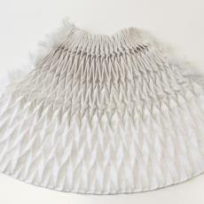 'Super Folds', proeven 'Miura Fold' (fase 2) - Boon, Samira, Boon, Samira, Boon, Samira, Boon, Samira, Textielmuseum, Samira Boon, Boon, Samira