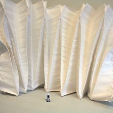'Super Folds', proeven 'Yoshimura Fold' (fase 2) - Boon, Samira, Textielmuseum, Boon, Samira, Boon, Samira, Boon, Samira, Samira Boon, Boon, Samira, Boon, Samira, Boon, Samira