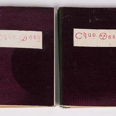 Stalenboekjes met galons voor paramenten (642) - Textielmuseum, Henri Rahder, Textielmuseum, Textielmuseum, H.H. Kolthof N.V., Textielmuseum, Textielmuseum