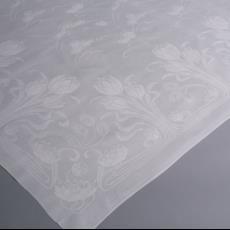 Art Nouveau tafellaken met waterlelie patroon - onbekend, Textielmuseum (Josefina Eikenaar)