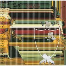 'Dexter & Sinister' uit de serie 'Signature Carpets' - Textielmuseum (Josefina Eikenaar), Jurgen Bey, Moooi Carpets