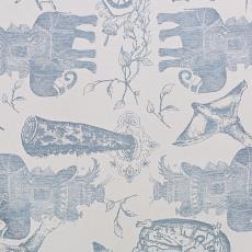 Tafelgoed, geïnspireerd op het verloren tapijt 'De Olifant' van Jeroen Bosch - Textielmuseum (Josefina Eikenaar), Jan Fabre, Textielmuseum (Josefina Eikenaar), Textielmuseum, Textielmuseum (Josefina Eikenaar)