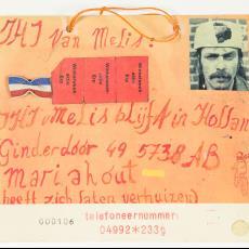 Verhuisbericht 'JHJ van Melis blijft in Holland' - J.H.J. van Melis, Textielmuseum (Josefina Eikenaar)