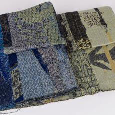 Proeven voor wandkleden 'Herinneringen aan vergezichten' (01 en 03) - Kiki van Eijk, Textielmuseum, Textielmuseum