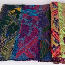 Proefstaal voor de serie 'Hypnopompic' - Textielmuseum, Textielmuseum, Textielmuseum, Kustaa Saksi, Textielmuseum