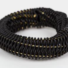 Armband 'O-ring' - Beppe Kessler, Textielmuseum