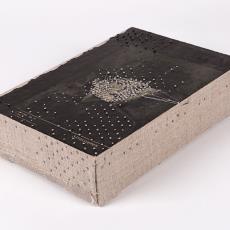 'Works on paper #46' (Struisveren) - Textielmuseum, Hinke Schreuders, Textielmuseum