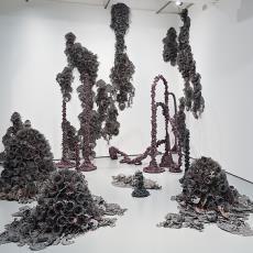 'Nebula and the Soft Machine' - Textielmuseum (Josefina Eikenaar), Tanja Smeets, Textielmuseum, Textielmuseum (Josefina Eikenaar)