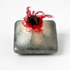 'Crystal broche' - Beppe Kessler, Quispel, Thijs