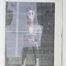 Ontwerpen voor installatie 'Memory Unsettled' - Textielmuseum, Célio Braga