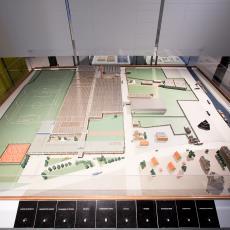 Maquette van het fabriekscomplex van AaBe 1961 - Koninklijke AaBe Wollenstoffen- en Wollendekenfabrieken (Tilburg), Lange, Tommy de, Lange, Tommy de, Lange, Tommy de, Lange, Tommy de