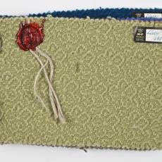 Stalen kledingstof Mutsaers & Van Poppel N.V. - Textielmuseum (Joep Vogels), Textielmuseum (Joep Vogels), Mutsaers & Van Poppel (Tilburg), Textielmuseum (Joep Vogels)