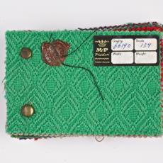 Stalen kledingstof Mutsaers & Van Poppel N.V. - Textielmuseum (Joep Vogels), Textielmuseum (Joep Vogels), Textielmuseum (Joep Vogels), Mutsaers & Van Poppel (Tilburg)