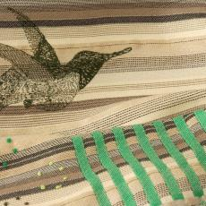 'Storyteller' / project 4, interieurstof - Christel Verhoeven, Nederlands Textielmuseum, Textielmuseum (registratiefoto), Textielmuseum (Joep Vogels)
