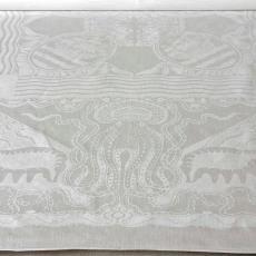 Tafellaken voor de KNSM - Textielmuseum (Joep Vogels), Theodoor Nieuwenhuis, Linnenfabrieken E.J.F. van Dissel & Zonen (Eindhoven)