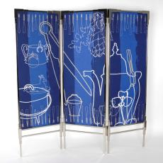 'Domestic Jewels - roomdivider', kamerscherm - Kiki van Eijk, Audax Textielmuseum Tilburg, Textielmuseum (Joep Vogels), Textielmuseum (Joep Vogels)