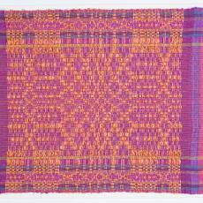 Geweven doek in linnenbinding en flotteringen - Lange, Tommy de, Kitty van der Mijll Dekker (Fischer-)