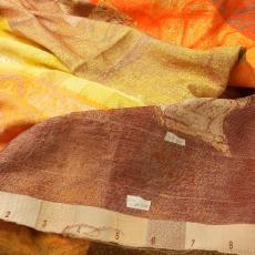 'Studiolo', proefstaal - Frank Van den Broeck, Nederlands Textielmuseum, Textielmuseum (Joep Vogels)