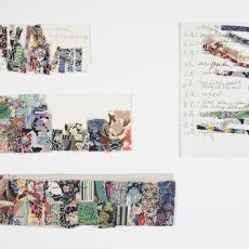 Monstervoorbeelden van textiel op papier met kleur- en patroonbeschrijvingen - Lange, Tommy de, Désirée Scholten-van de Rivière