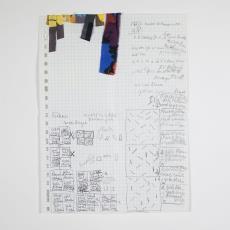 Ontwerp, monstervoorbeeld en beschrijving van kleuren, patronen en afmetingen, en losse reepjes stof - Désirée Scholten-van de Rivière, Lange, Tommy de