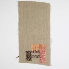 ontwerp van weefsels op steunlinnen - Lange, Tommy de, Désirée Scholten-van de Rivière (?)