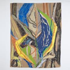 Ontwerptekening: bladfiguren - Désirée Scholten-van de Rivière, Lange, Tommy de
