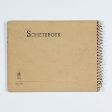 Schetsboekje - Herman Scholten, Lange, Tommy de, Lange, Tommy de