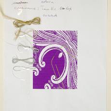 Werktekeningen voor jurk uit Couture Collectie 'Irradiance voorjaar 2011' - Audax Textielmuseum Tilburg, Jan Taminiau
