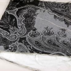 Proeven voor jurk uit Couture Collectie 'Irradiance voorjaar 2011' - Jan Taminiau, Audax Textielmuseum Tilburg