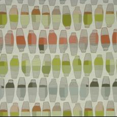 Meubelstof 'Vases' (0002 Citrus) - Hella Jongerius, Textielmuseum (registratiefoto), Textielmuseum (registratiefoto), Maharam, Kvadrat, Textielmuseum, Textielmuseum