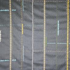 Borders (0003 Charcoal) - Textielmuseum (registratiefoto), Maharam, Textielmuseum (registratiefoto), Hella Jongerius, Kvadrat
