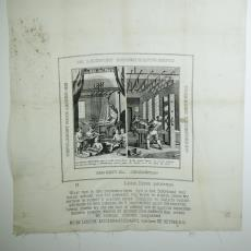 Gedenkdoek, Leidse Katoenmaatschappij - Textielmuseum (registratiefoto), Leidsche Katoen Maatschappij (Leiden)