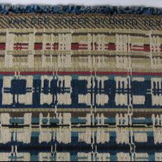 Stalen van meubelstoffen 'Buttons', 'Dots', 'Sunshine', 'Off line', 'Cross over' en 'Lines'. - B&T Textiles, Textielmuseum (registratiefoto), Textielmuseum (registratiefoto), Textielmuseum (registratiefoto), Textielmuseum (registratiefoto), Textielmuseum (registratiefoto), Textielmuseum (registratiefoto), Textielmuseum (registratiefoto), Textielmuseum (registratiefoto), Liset van der Scheer, Oniro, Textielmuseum (registratiefoto), Textielmuseum (registratiefoto), Textielmuseum (registratiefoto)