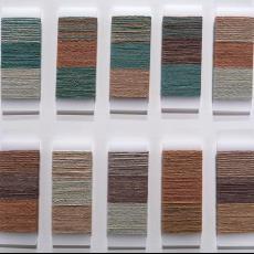 Kleurwikkels voor vloerkleed 'Blend 2' - Raw Color, Textielmuseum (registratiefoto), Nanimarquina